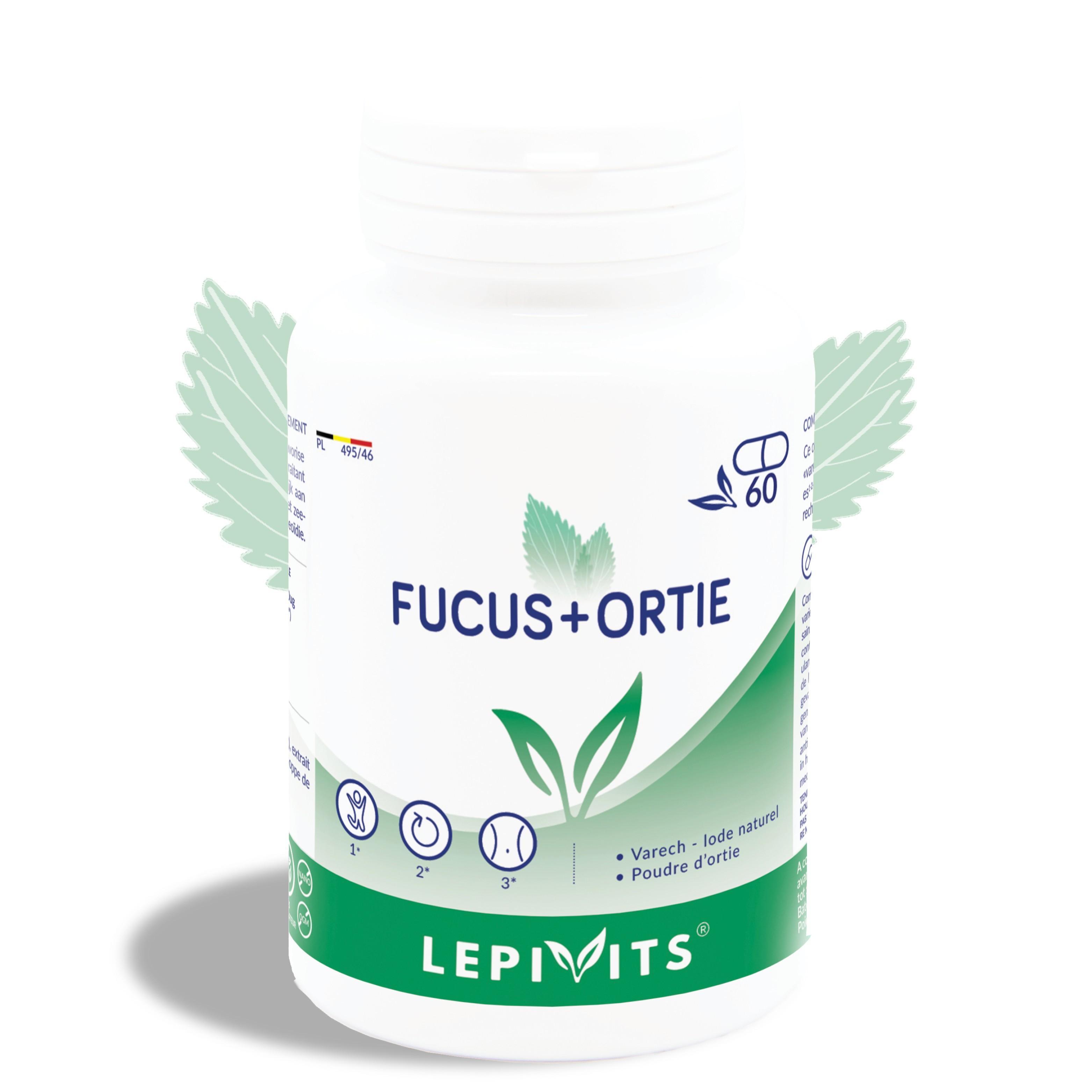 Fucus + Brandnetel_60 V.GELS-LEPIVITS