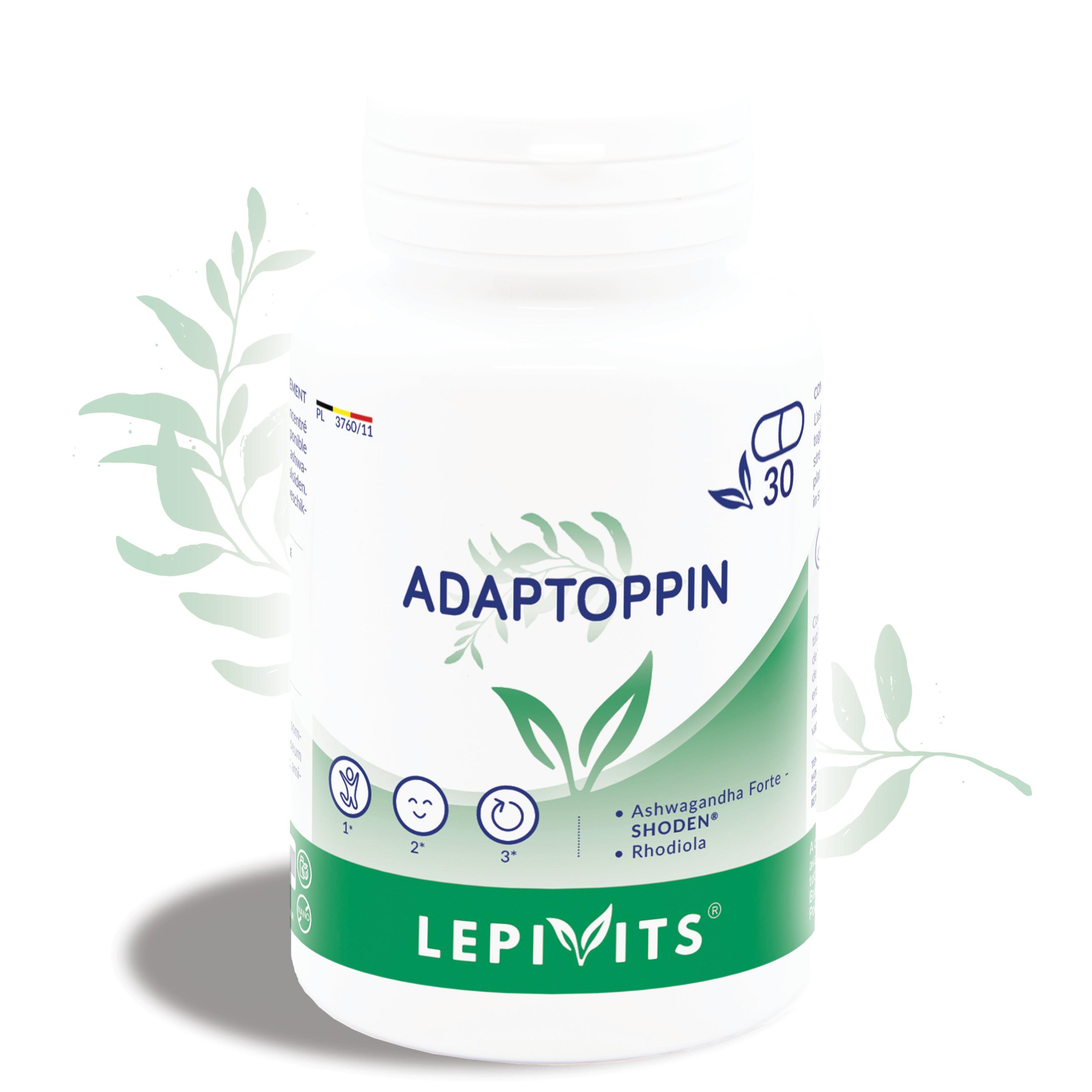 Adaptoppin - 30 gélules végétales - LEPIVITS