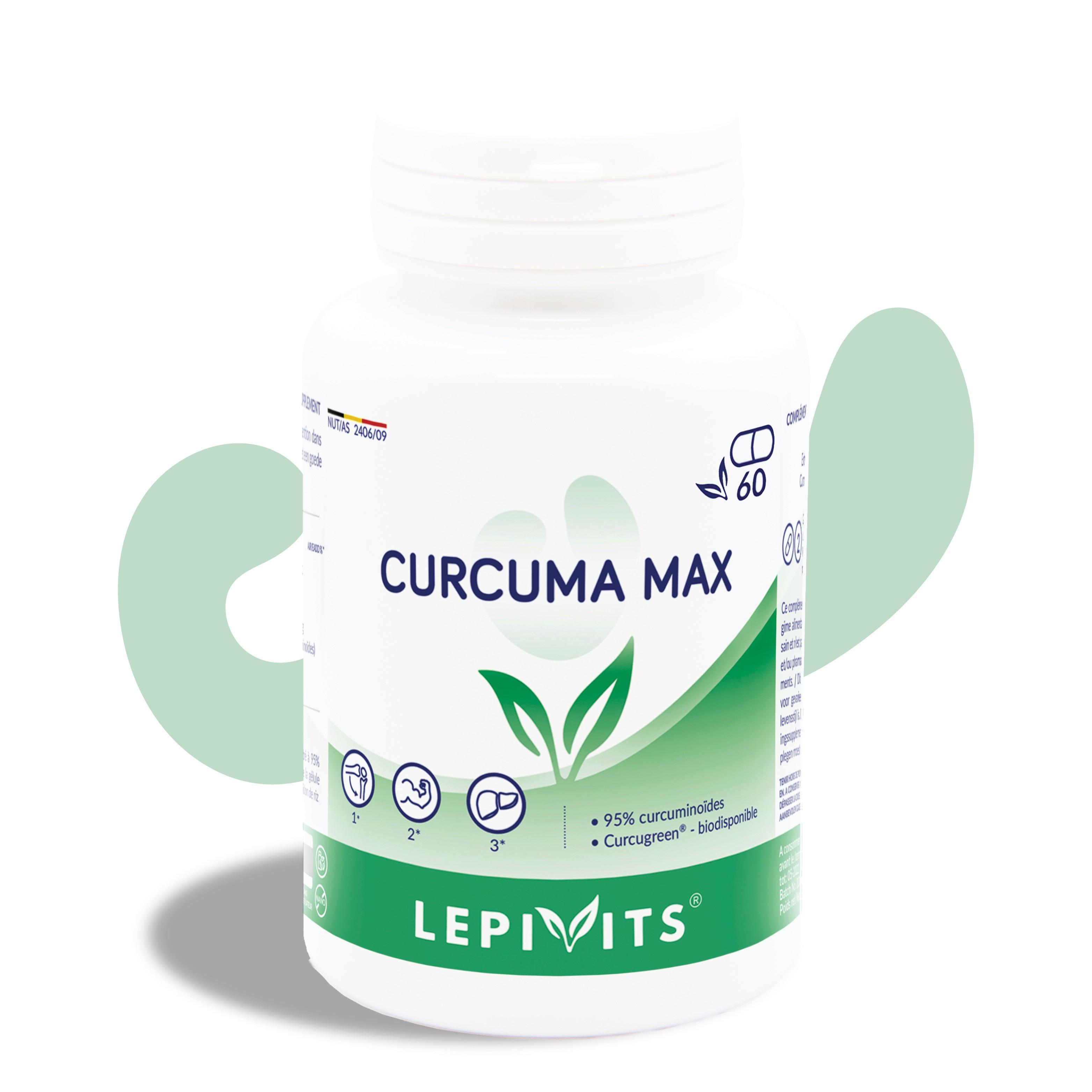 Curcuma Max_60 V.GELS-LEPIVITS