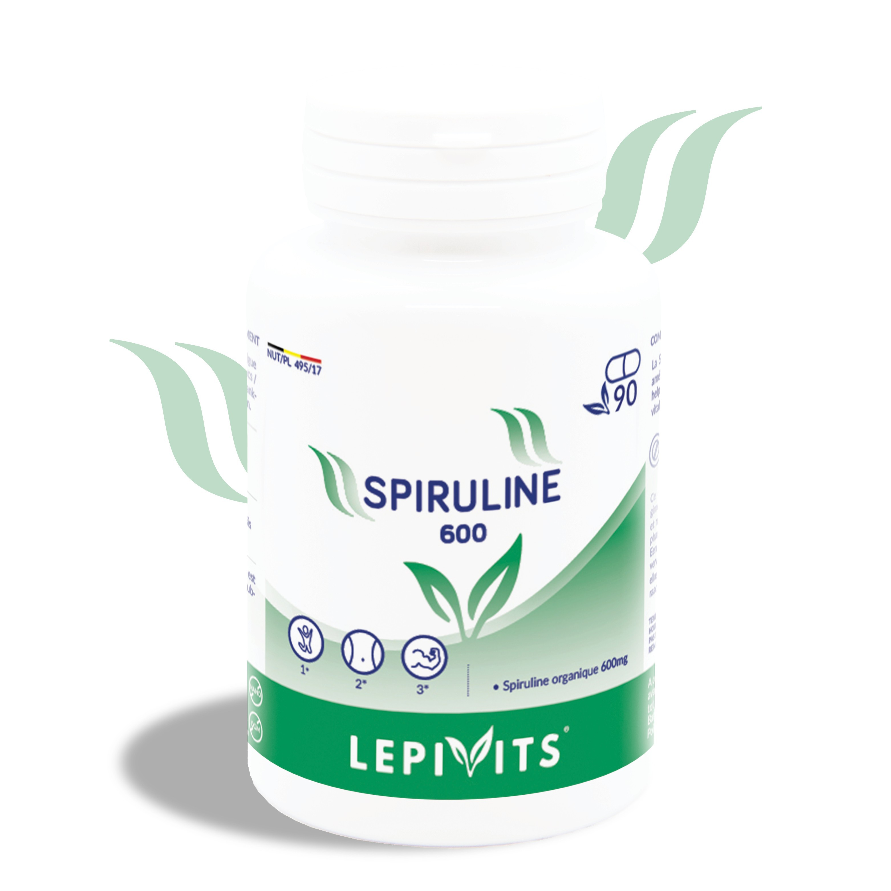 Spirulina 400_150 tablets-LEPIVITS