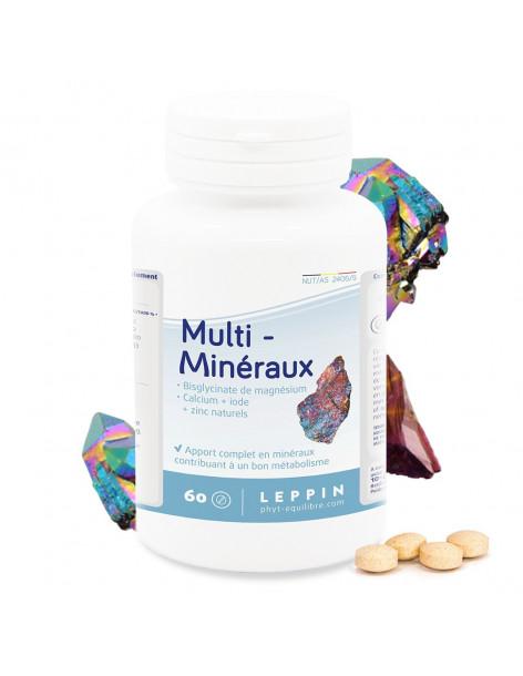 Multi-minéraux - 90 comprimés - LEPPIN