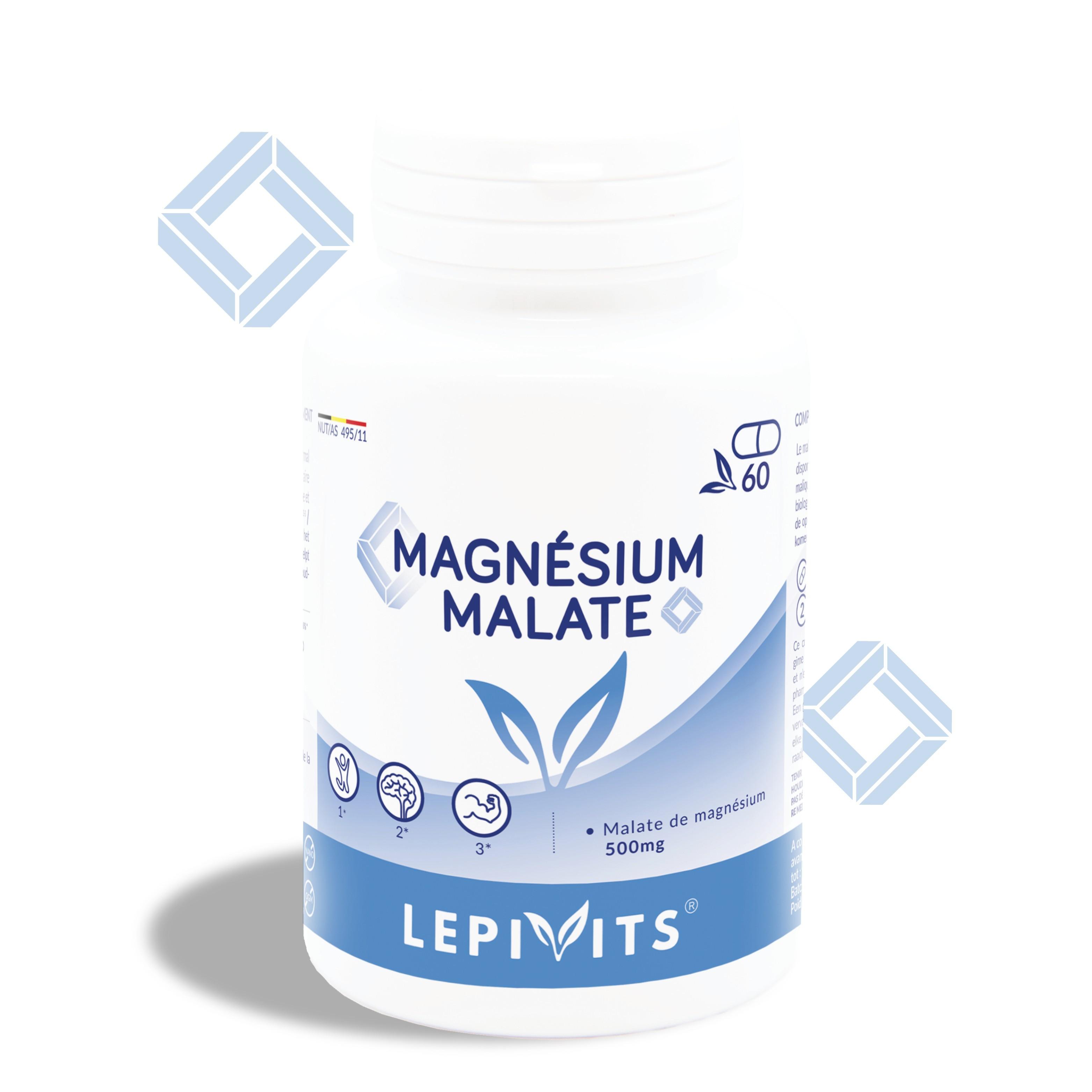Magnesium malate_60 V.GELS-LEPIVITS